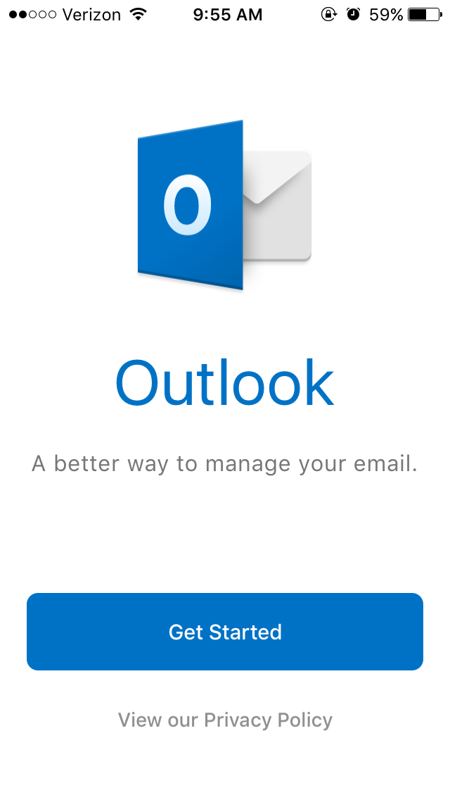 faculty email windows app step 1